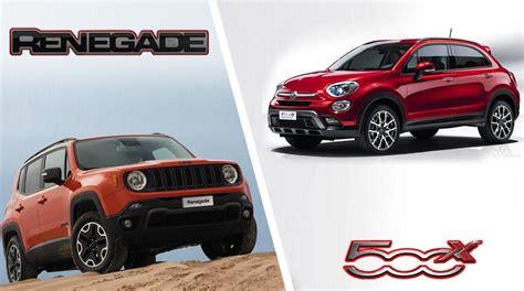 jeep renegade vs 500x fiat 500x vs jeep renegade quale scegliere news