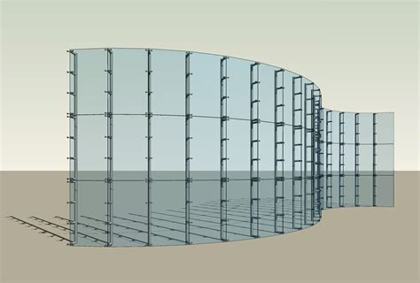 curtain wall revit revitcity com curtain wall with 260 alum sill