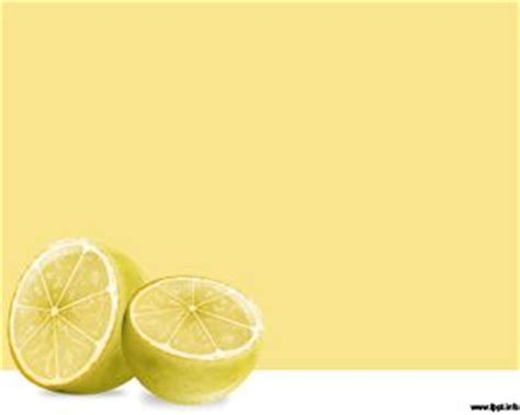 free citrus powerpoint template