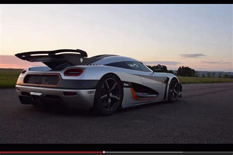 Schnellstes Auto Der Welt Agera One by Koenigsegg One 1 Weltrekord Und Fahrbericht Bilder