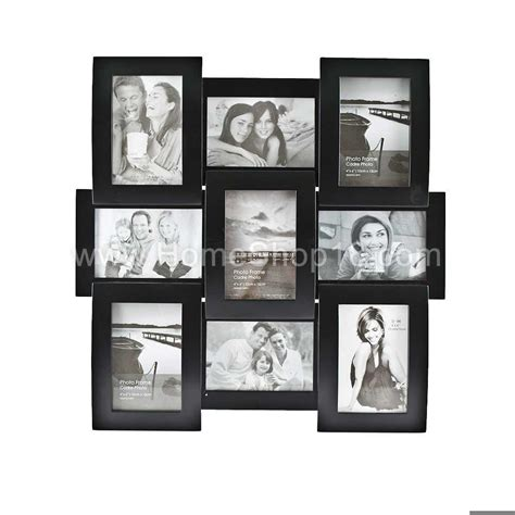 collage photo frames collage photo frame with clock images
