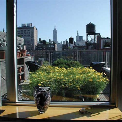 Gardenia Terrace Nyc Modern Terrace Garden At Greenwich Penthouse In New York