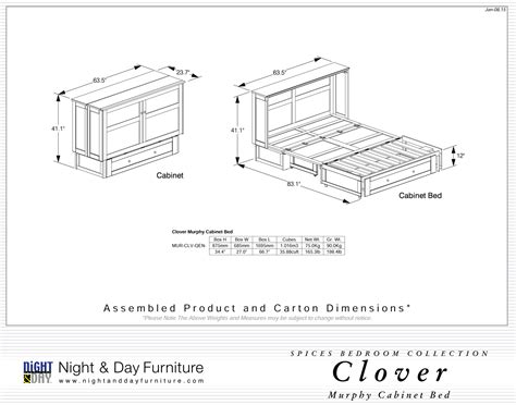 night and day cabinet lit armoire clover night day futon d or matelas