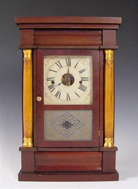 Column Cornice Seth Column Cornice Cased Shelf Clock Price Guide