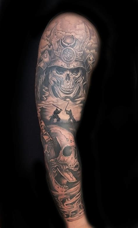 mike evans tattoo sleeve tattoos skull tattoos japanese tattoos mike