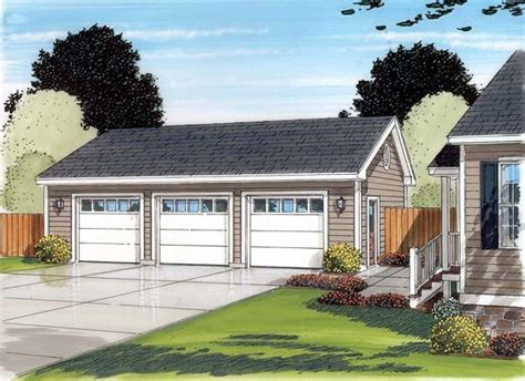 Three Car Garage Plans Traditional by 1000 Images About Garage Mudroom Ideas On
