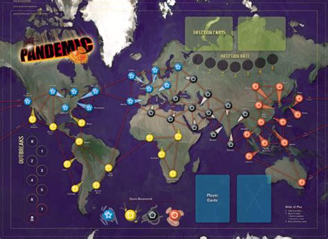Pandemic Boardgame three j s learning pandemic different types of randomness