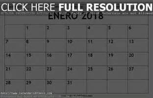 Calendario Diciembre 2017 Enero 2018 Calendario Enero 2018 Para Imprimir Mes De Enero 2018