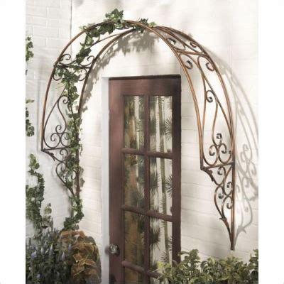 Garden Arch Made From Doors Door Arch Trellis Flower Butterfly Garden