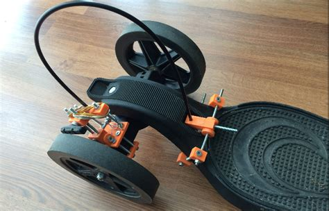 Longboard Giveaway 2017 - skateboarder creates 3d printed braking system for onda longboard 3dprint com the