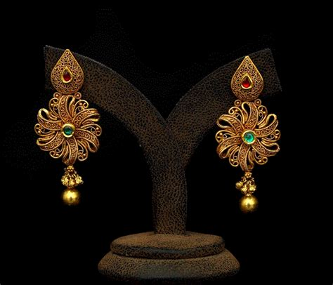 Gold Earrings latest jewelry designs   Page 13 of 15