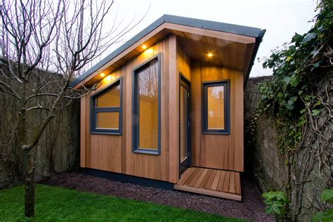 backyard office plans the garden office company ecos ireland