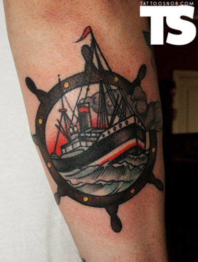 tugboat tattoo designs josh what about this ish but with our ship inside