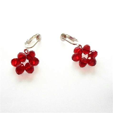 Handmade Clip On Earrings - earrings handmade clip on bright hoop 6