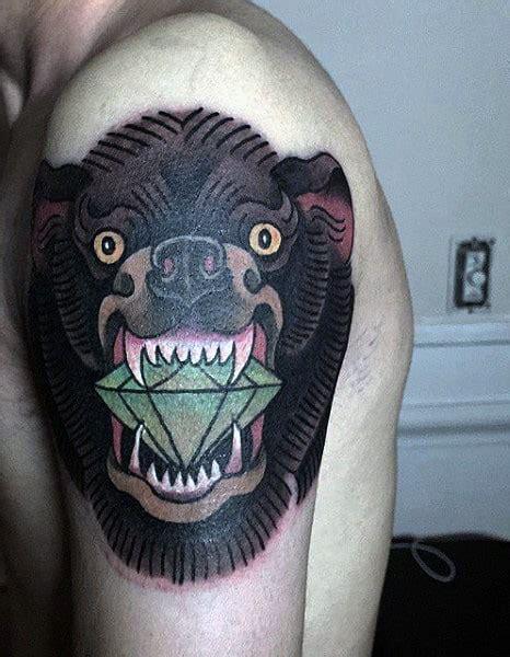 diamond tattoo male diamond tattoos for men ideas and inspiration for guys