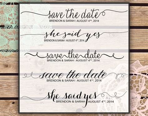 Photoshop Overlays Save The Date Wedding Instant Download 8 Layered Psd Files 16 Png Save The Date Template Psd