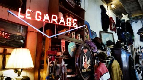 le garage antiques and clothing antique store new