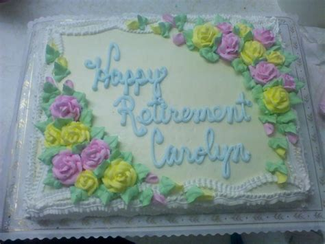 Retirement Cake Decorations by Happy Retirement Cake Ideas 94016 Happy Retirement Cake De
