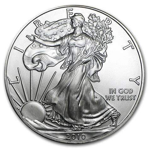 1 Oz Silver American Eagle Bu by 2010 1 Oz Silver American Eagle Bu Silver Eagles West