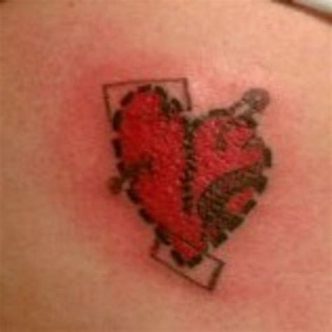 shattered heart tattoo designs tattoos designs broken www imgkid the image