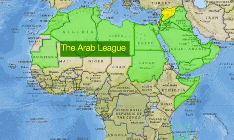 map of the arab arab league to create joint nat geo