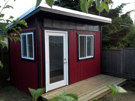backyard offices vancouver contemporary shed backyard office vancouver
