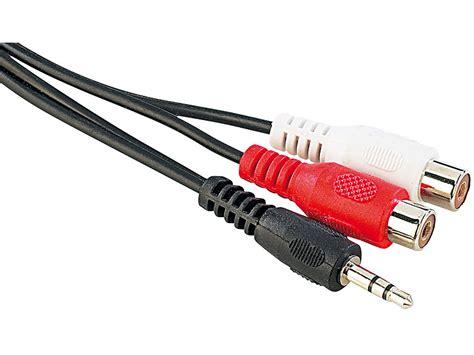 Kabel Audio 2 In 1 Aux 15cm Audio 3 5mm To Rca goobay audio kabel 2x cinch buchse auf 3 5mm stereo klinke stecker 1 5m