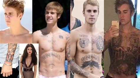 justin bieber new tattoo of selena singer justin bieber s tattoos 2018 justin bieber s