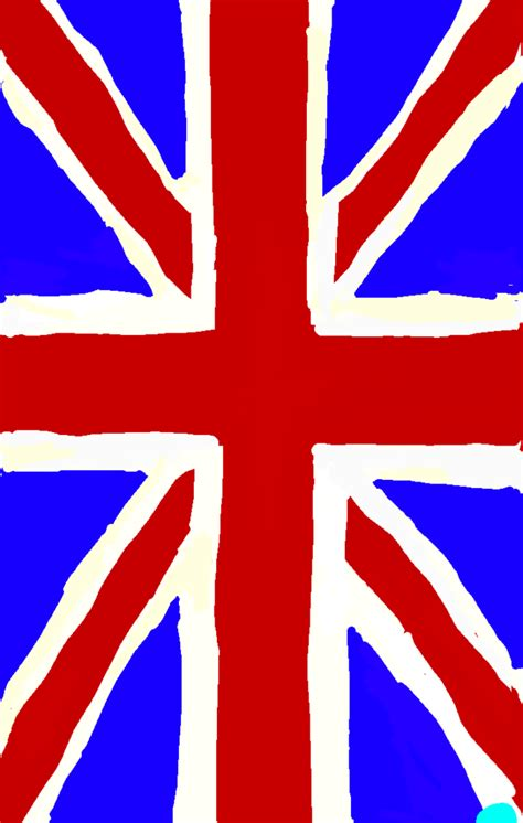 i painted the flag of the united kingdom we it flag and paint