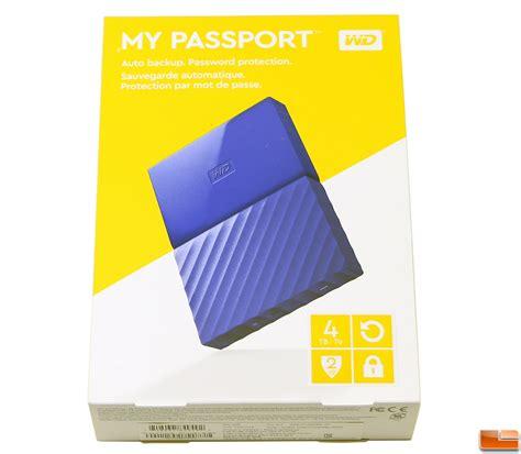 Wd My Passport New Model 4tb Hd Hdd Hardisk Eksternal External 25 wd my passport 4tb 2016 edition portable external drive review legit reviewswd 4tb my