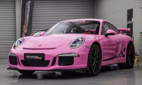 porsche pink spotlight gloss pink porsche 991 gt3