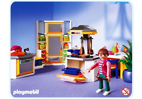 cuisine playmobil cuisine contemporaine 3968 a playmobil 174