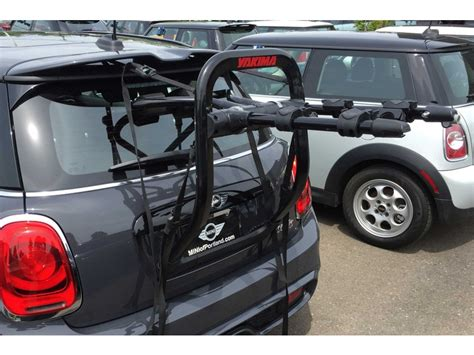 mini cooper bike rack yakima halfback2 2 bike