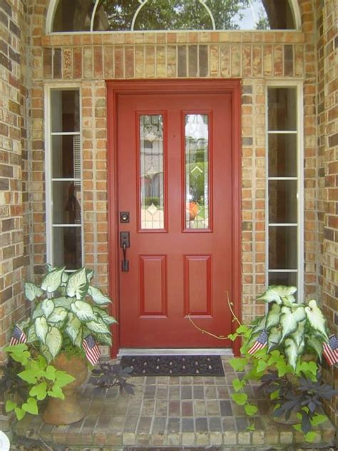 front door colors for brick house how a home stager choose the new color on own front