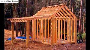 How To Build A 10x12 Shed by Shed Plans 10x12 12x16 Shed Plans