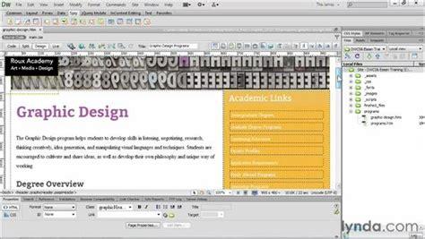 dreamweaver library tutorial using spry widgets