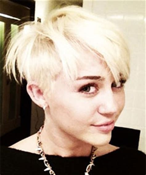 whats miley cyrus pixie cut called miley cyrus from pixie to mohawk