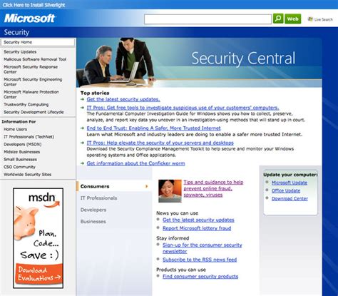 Website Microsoft Apple Vs Microsoft A Website Usability Study