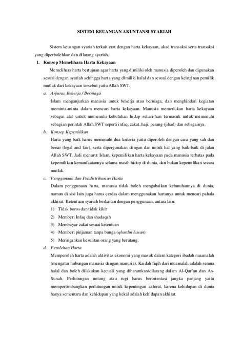 Akuntansi Transaksi Syariah Akad Jual Beli Di Lembaga Bukan Bank sistem keuangan akuntansi syariah