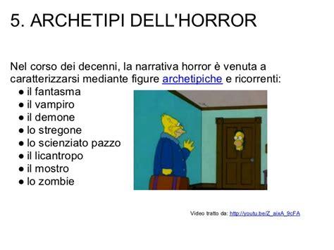 testo horror il testo horror