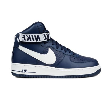 Nike Sneakers High Navy nike air 1 high 07 college navy white 80 50