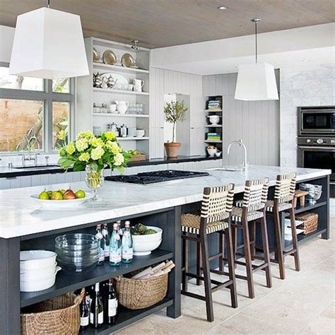 center island kitchen ideas top 70 best kitchen island ideas gourmand s dream designs