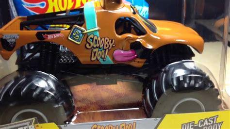 scooby doo monster jam truck toy wheels monster jam 1 24 scale scooby doo new for 2014
