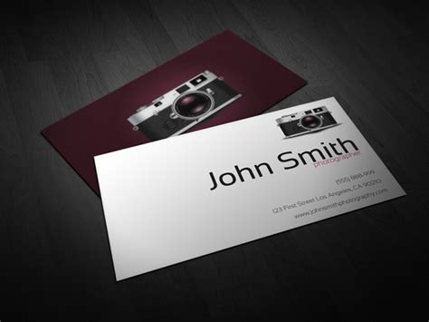 photography card templates last day 40 ready to print business card templates only