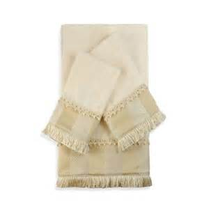 embellished bath towels buy gold bathroom decor from bed bath beyond
