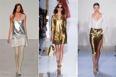 mature women fashion trends for 2014 gold und silber metallic t 246 ne liegen 2014 im trend