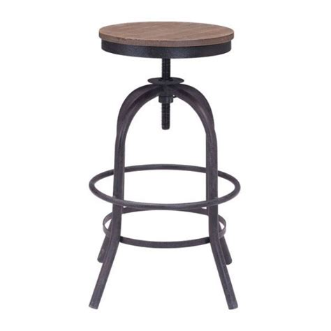 Industrial Swivel Counter Stool by Industrial Wood Swivel Counter Stool Modern Furniture