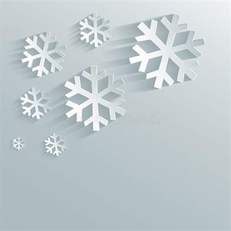 faire des plans en 3d 4001 snowflake paper sky stock vector image 32895278