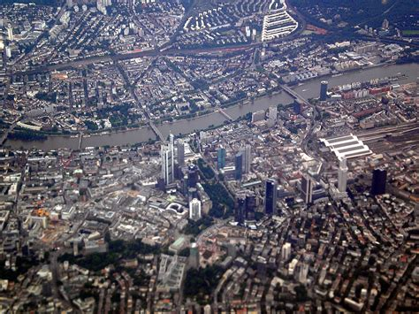 file frankfurt am from a plane jpg wikimedia commons