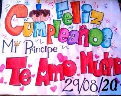imagenes de un cartel para mi novio pancartas de feliz cumplea 241 os para mi novio carteles
